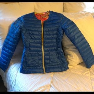 Lilly Pulitzer Lilah Goose Down Reversible Jacket